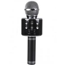 Беспроводной караоке микрофон WS-858 черный