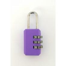Кодовый замок на чемодан 9001-3 сиреневый