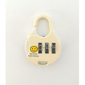 Кодовый замок на чемодан 9001-4 бежевый