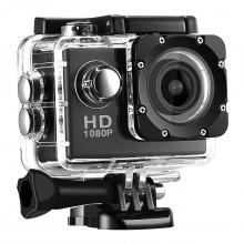 Экшн-камера Sport Cam Full HD 1080p Водонепроницаемая Черная