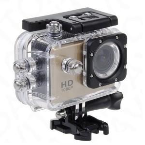 Экшн-камера Sport Cam Full HD 1080p Водонепроницаемая Gold