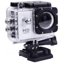 Экшн-камера Sport Cam Full HD 1080p Водонепроницаемая Белая