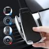 Автодержатель сенсорный с беспроводной зарядкой для смартфона Smart Sensor S5