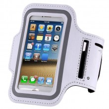 Чехол для телефона на руку для бега 14.5х8 RM1-3 белый
