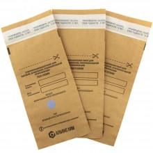 Бумажный стерилизационный крафт пакет с индикатором 75 х 150мм ( 100шт )