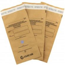 Бумажный стерилизационный крафт пакет с индикатором  100 х 200мм  ( 100шт )