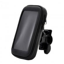 Велосипедный держатель с защитным чехлом для смартфона до 4,7 дюймов C-003