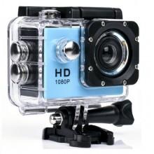 Экшн-камера Sport Cam Full HD 1080p Водонепроницаемая Синяя