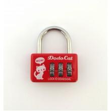 Кодовый замок на чемодан CH20B-3 красный