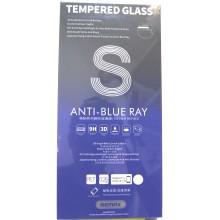 Защитное стекло 3D для iPhone 7/8 с белой рамкой