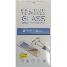 Защитное стекло 2D для Huawei Honor 9 с белой рамкой