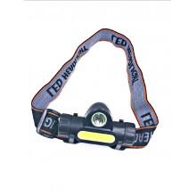 Налобный светодиодный аккумуляторный фонарьHT-669