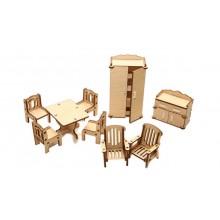 Конструктор деревянный «Зал» ДК-1-001-03