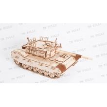 Конструктор деревянный «Боевой танк» ТР-06