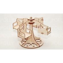 Конструктор деревянный «Карусель» РЗВ-13