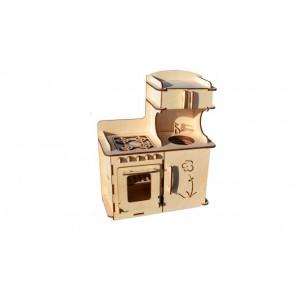 Конструктор деревянный «Кухонный гарнитур» ДК-2-09