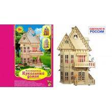 Конструктор деревянный «Кукольный домик» ДК-1