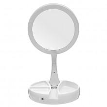 Косметическое зеркало с подсветкой My Fold Mirror  JG-988