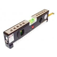 Лазерный уровень с рулеткой LV-04 black