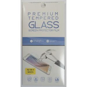 Защитное стекло 2D для Xiaomi MI 5 с белой рамкой