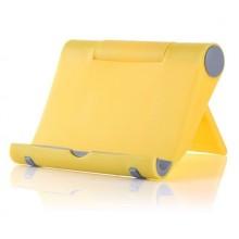Подставка для телефона настольная Желтая