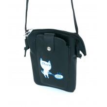 Сумка-кошелек PL602 черная