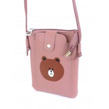 Сумка-кошелек PL603-4 розовая