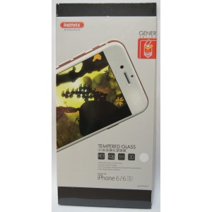 Защитное стекло 3D для iPhone 6/6s с белой рамкой