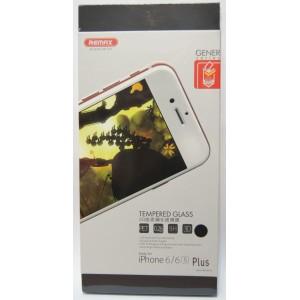 Защитное стекло 3D для iPhone 6 Plus/6s Plus с черной рамкой