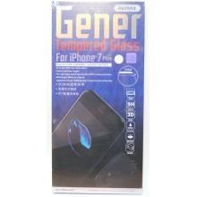 Защитное стекло 3D для iPhone 7 Plus/8 Plus с белой рамкой