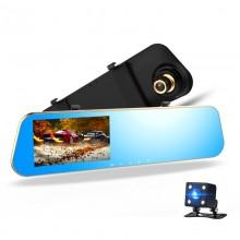 Зеркало-видеорегистратор сенсорный с камерой заднего вида L905C