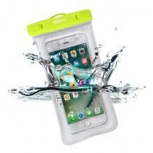 Водонепроницаемый чехол на руку для телефона и документов Rock RST1017 Зеленый