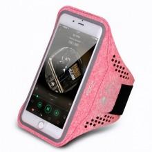 Чехол для телефона на руку для бега Rock RST1019 Розово-красный