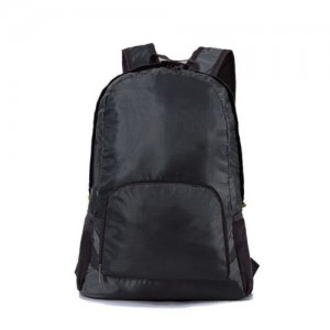 Рюкзак складной в сумку универсальный Черный
