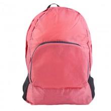 Рюкзак складной в сумку универсальный Розовый