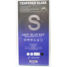 Защитное стекло 3D для iPhone 7/8 с черной рамкой