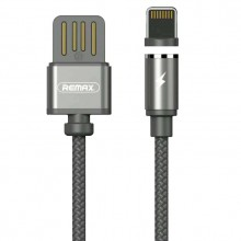 Кабель магнитный USB для iPhone Remax Gravity Magnet Cable RC-095i