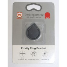 Кольцо-держатель для телефона RH-6. Черный