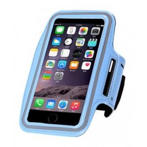 Чехол для телефона на руку для бега 15.5х8  RL1-5 голубой