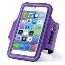 Чехол для телефона на руку для бега 15.5х8  RL1-6 фиолетовый