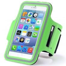 Чехол для телефона на руку для бега 15.5х8  RL1-7 зеленый