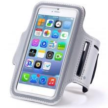 Чехол для телефона на руку для бега 15.5х8  RL1-8 серый
