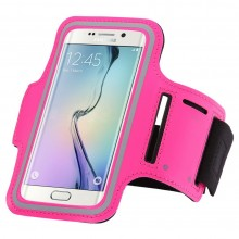 Чехол для телефона на руку для бега 14.5х8  RM1-1 розовый