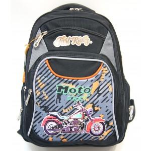 Рюкзак ранец школьный Miqini 6696 Черный