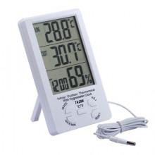 Метеостанция TA298 термометр и гигрометр с выносным датчиком