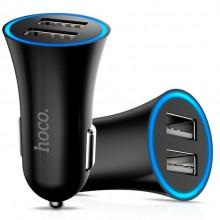 Автомобильное зарядное устройство Hoco UC204  2хUSB 2.4A