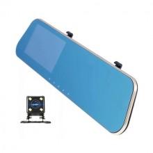 Зеркало-видеорегистратор сенсорный с камерой заднего вида L909C-1