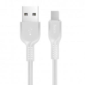 USB кабель Hoco X20 Type-C  2m (белый)