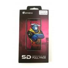 Защитное стекло 5D для Xiaomi 2A/6X с белой рамкой Zifriend