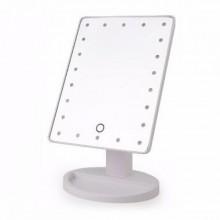 Косметическое зеркало с подсветкой Large Led Mirror  XR-1608-1 белое
